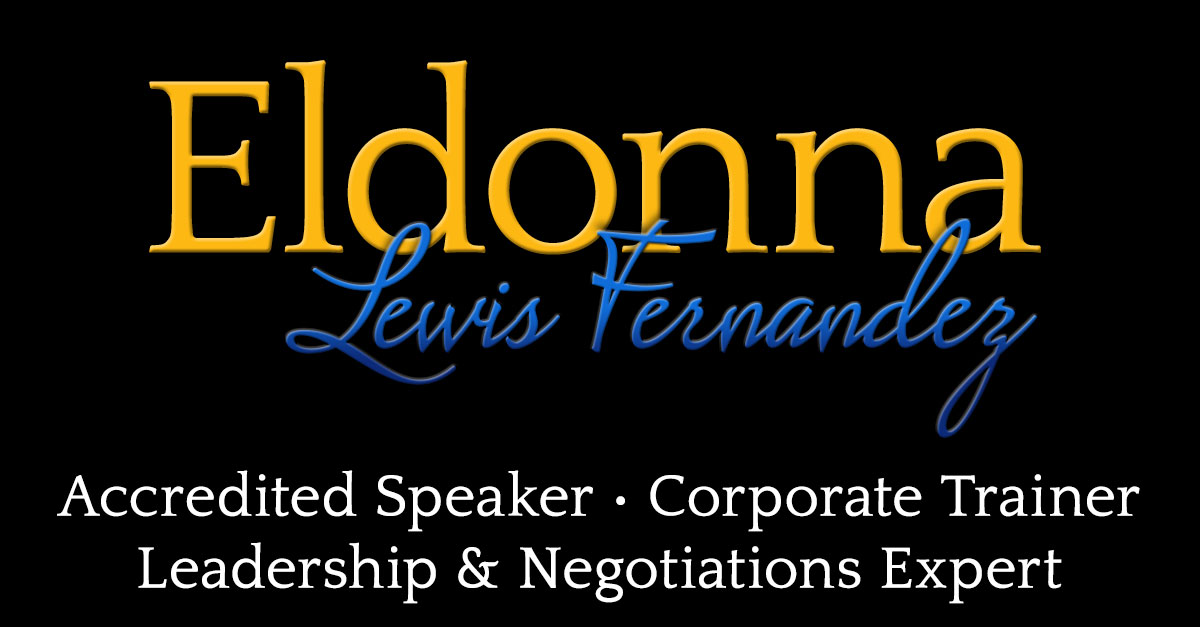 Eldonna Lewis Fernandez ~ Negotiations & Contracts Expert, Professional Speaker, Mentor, Trainer, Author of Think Like A Negotiator